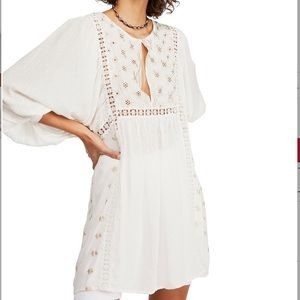 Free people ivory tunic top